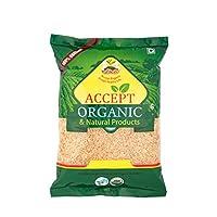 Accept Organic Basmati Brown Rice 1 KG Pack of Healthy & Organic Food