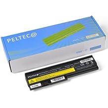 PELTEC@ Premium - Batería para portátiles IBM, Lenovo, Thinkpad X200s, X201i, X201s, X201si, X200, X201, 43R9255, 42T4536, 43R9254, 42T4542, 42T4543, 42T4534, 42T4537, 42T4538, 42T4540, 42T4649 y 42T4650 (4400 mAh, 10,8 a 11,1 V)