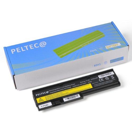 PELTEC@ Premium Notebook Laptop Akku mit 4400mAh 10,8/11,1Volt für IBM Lenovo Thinkpad X200s X201i X201s X201si X200 X201, passt 43R9255 42T4536 43R9254 42T4542 42T4543 42T4534 42T4537 42T4538 42T4540 42T4649