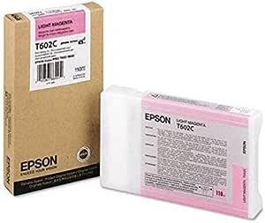 Epson T602c Tintenpatrone Singlepack Hell Magenta Bürobedarf Schreibwaren