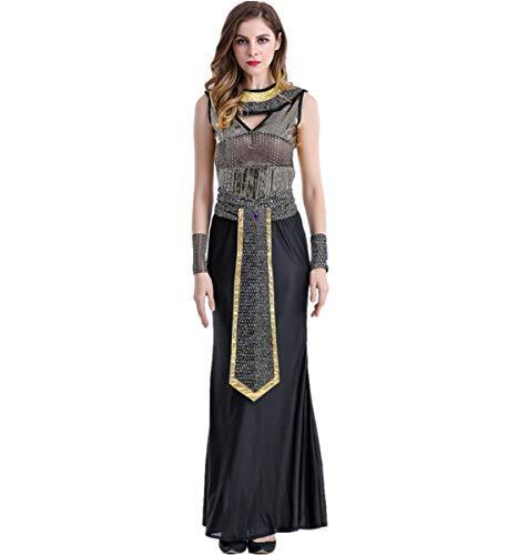 LOBTY Damen Römische Göttin griechische Halloween Kostüm Griechischer Göttin Kostüm Oder Ägyptisches Kostüm (Römische Oder Griechische Göttin Kostüm)