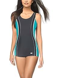 Gwinner Damen Badeanzug- Geeignet Für Freizeit Und Sport - Ideale Passform - Beständig Gegen UV Und Chlor -Made In EU #Agatina