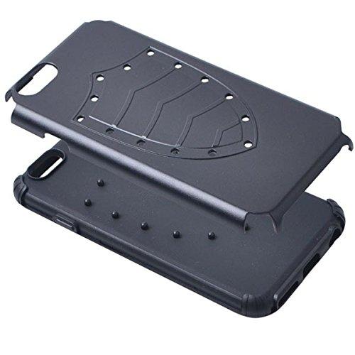 Hybrid TPU PC Bouclier Armure Protecteur Hard Cases pour iPhone 6 blanc