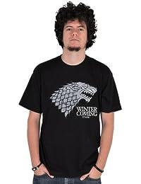 Game of Thrones / Lied von Eis und Feuer - Haus Stark Wappen T-Shirt, lizenziert