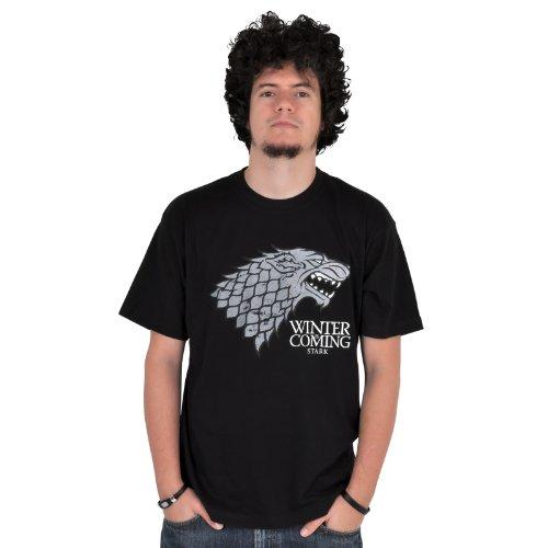 Game of Thrones Herren T-Shirt Schwarz Schwarz Schwarz - Schwarz