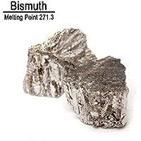 99,99% 100g Bismuto puro Bi Metaloide Elemento 83 - En botellas de vidrio