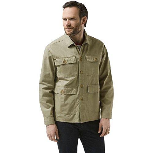 Shirt-jacke (Craghoppers Herren Bridport Shirt Jacke Beige, Sandstone, M)