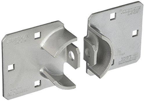 Master Lock #A800 Heavy Duty 6Hole Chrome Hasp by Master Lock (Lock Heavy-duty-master)
