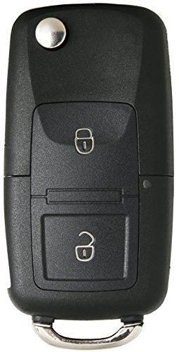 Liamgate Ersatz Schlüssel Gehäuse mit 2 Tasten und Klappschlüssel