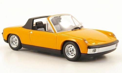 VW Porsche 914, orange, 1969, Modellauto, Fertigmodell, I-Minichamps 1:43 (Porsche 914 Modell)