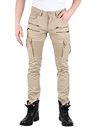 Tazzio Top Pantalon Skinny Jeans stretch Biker Style Club Wear