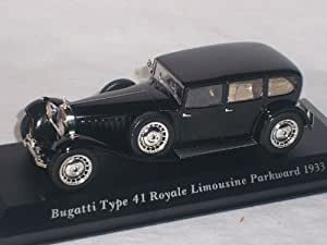 Altaya By Ixo Bugatti Type 41 Royale Berline Park Ward 1933 Oldtimer 1/43 Altaya By Ixo Voiture Modèle Promotion