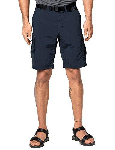 Jack Wolfskin Herren Canyon Cargo Shorts Night Blue, 48 Nylon Cargo