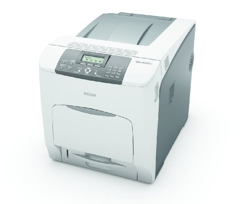 Ricoh Aficio SP C431DN Imprimante couleur recto-verso laser Legal, A4 1200 ppp x 1200 ppp jusqu'à 42 ppm (mono) / jusqu'à 42 ppm (couleur) capacité : 650 feuilles USB, 10/100Base-TX