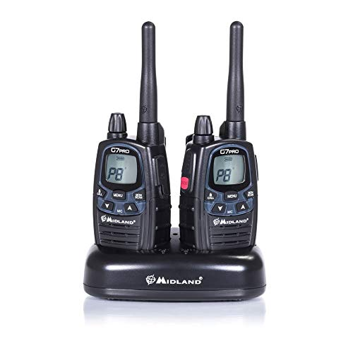 Midland G7 Pro Kit Radio Ricetrasmittente Walkie Talkie Dual Band 8 Canali...