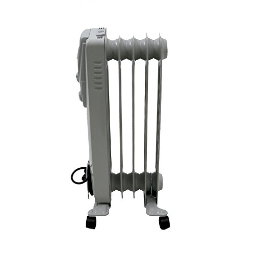416j U cMyL. SS500  - Oypla 1000W 5 Fin Portable Oil Filled Radiator Electric Heater
