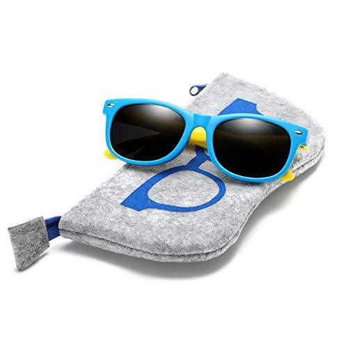 ertonglki-01 Mit Tasche Gummi tr90 Kinder hd polarisierte Sonnenbrille Kinder Sonnenbrille Polaroid Sonnenbrille für mädchen Jungen Baby Brillen Brillen