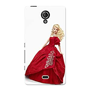 Mobile Back Cover For Sony Xperia T LTE (Printed Designer Case)