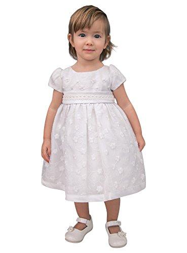 Boutique-Magique Robe de baptême bébé fille blanche d68b85e35c5