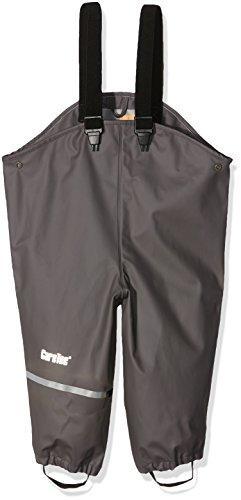 CareTec Pantalon de pluie avec doublure Enfants  (différentes couleurs) Gris (Grey 174) 104 cm CareTec