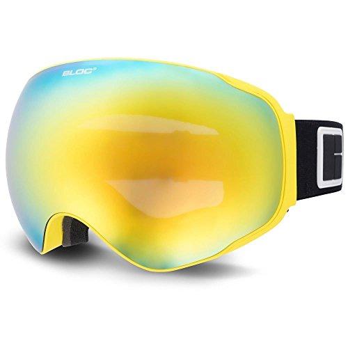 Bloc Evolution Ski Snowboard Brillen Gelb eo14