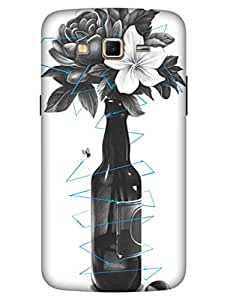 Bikzone 3D Printed Back Cover for Samsung Galaxy Grand 2