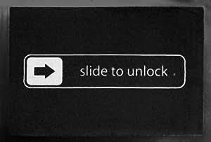 RAHMENLOS® Fußmatte Fußabtreter Fußabstreifer 40 x 60 cm Slide to unlock