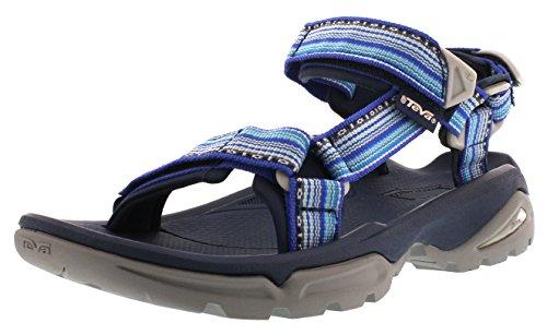 Teva Terra Fi 4 W's Damen Sport- & Outdoor Sandalen, Blau (La Manta Bright Blue 538), EU 38