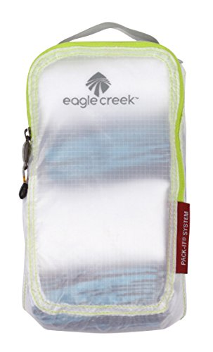 eagle-creek-pack-it-specter-quarter-cube-white-clothing-storage-bags-soft-bag-white-fabric-zipper