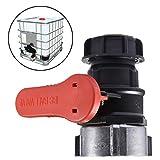 Adattatore IBC 75 mm valvola serbatoio acqua rubinetto a sfera tubo connettore & adattatore per serbatoio acqua piovana IBC serbatoio acqua piovana rubinetto valvola interruttore