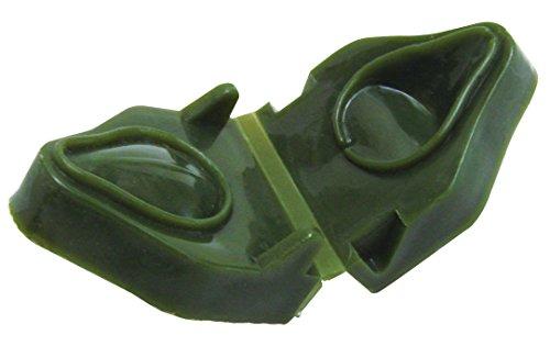 Angelteig-Former für Köderteig in dunkelgrün