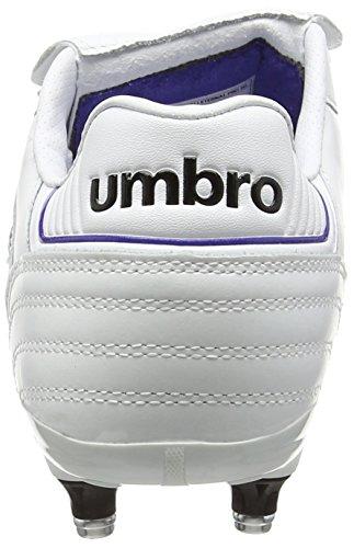 Umbro - Speciali Eternal Pro Sg, Scarpe da calcio Uomo Bianco (White (White/Black/Clematis Blue))