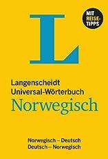 Langenscheidt Universal-Wörterbuch Norwegisch - mit Tipps für die Reise: Norwegisch-Deutsch/Deutsch-Norwegisch (Langenscheidt Universal-Wörterbücher)