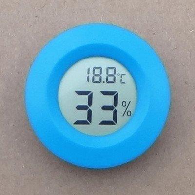 AGEG Turno Elettronico Digitale del Termometro del Tester di Umidità con Display LCD per L'ufficio Fabbrica Famiglia Serbatoio Canile Rettile