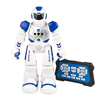 Shangda RC Remote Control Robot Smart Action Robot Toy for Kids Infra-red Transmitter Allows Gesture Control