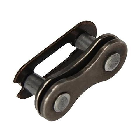 Hunpta un ensemble de chaîne de vélo Master Link articulé Chaîne connecteur Fitting, noir