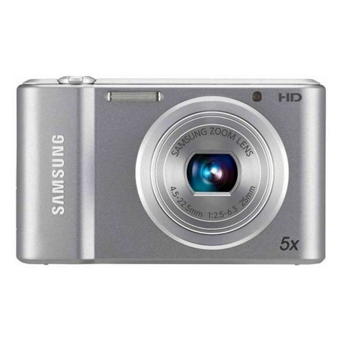 Samsung ST66 16.1MP Point and Shoot Digital Camera with 5x Optical Zoom (Silver)