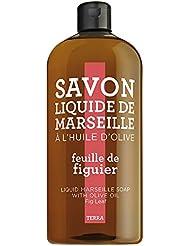 TERRA by Compagnie de Provence–Savon Liquide Feuille de vigne, Recharge 1000ml
