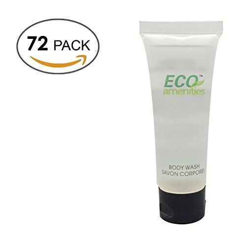 eco-amenities-transparent-tube-opercule-emballe-individuellement-30ml-gel-douche-72-prouvettes-par-c