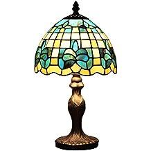 AIFUDE 8-Inch Cafe Bar Club Ktv Decorative Tiffany lampada da tavolo di vetro Handmade Tiffany Lighting Fixtures