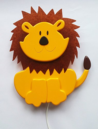 Schlummerleuchte im Löwen-Design