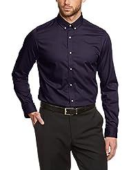 SELECTED HOMME Herren Slim Fit Businesshemd Zero Globe shirt ls NOOS ID