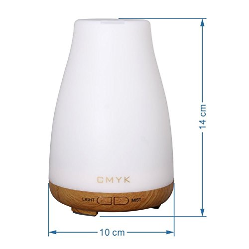 Cmyk Aroma Diffuser Colorful Ultrasonic Humidifier Aroma Diffuser Aromatherapy Essential Oil