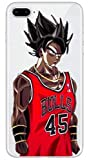 Art-design Coque iPhone 7+ Plus et 8+ Plus Supreme DBZ Dragon Ball Z Bulls 45 Super...