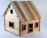 Haus 2 zum Selbstbau Holz Spielzeug Massiv selber bauen Kinder Konstruktion Bausatz