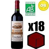 X18 Château Grand Pey Lescours 2014 75 cl AOC Saint-Emilion Grand Cru Rouge Rotwein