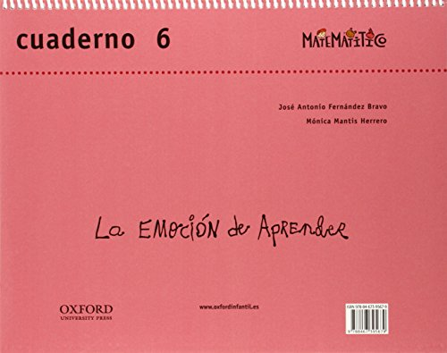 Matematitico 5 Años Pack Cuaderjo de Ejercicios 6 Alum (Matematítico) - 9788467395662