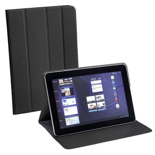 Pedea Tablet Tasche mit Klebefolie für Lenovo Yoga 8 /Odys Connect 7 Pro /Odys Junior Tab 8 Pro / Sony Xperia Z3 Compact Tablet / Star N9000 Note 3 III) schwarz