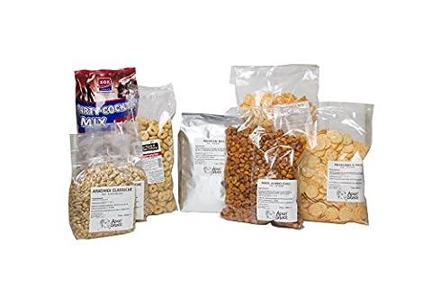 aperisnack®–MIX04–Model 4Mix Aperitif °–Quantity 1Box Mixed By 9,300Gr. Chilli Mix Mexicano, Maize, Bar Cocktail, Peanuts Salted, tarallino Rustic Chilli, Pretzels, mexicano' S Aperitif Rice, Pretzels, Taralli of Puglia, Taralli Neapolitans, Mix Aperitif Party Nibbles for Aperitif, Aperitif Blend for Party, Peanut, Peanut apertitivo, Rice Dolce And Chilli, Blend for Parties and Birthdays Party Nibbles for, offer Mix