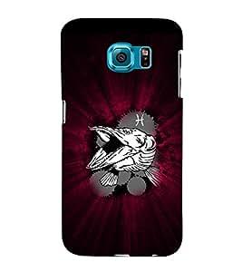 EPICCASE Shark Attack Mobile Back Case Cover For Samsung Galaxy S6 Edge Plus (Designer Case)